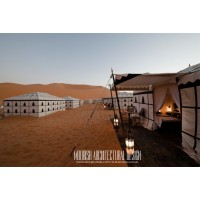Moroccan camping tent
