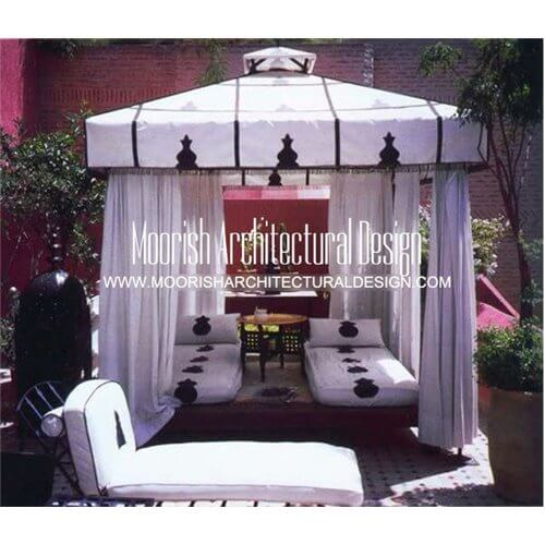 Moroccan Gazebo Arabian Pool Canopy Middle Eastern