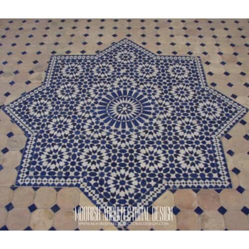 Moroccan Medallion Tile 01