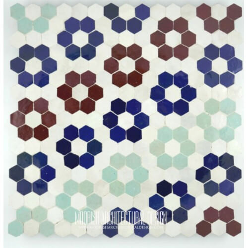Moroccan Hex Diamond Tile