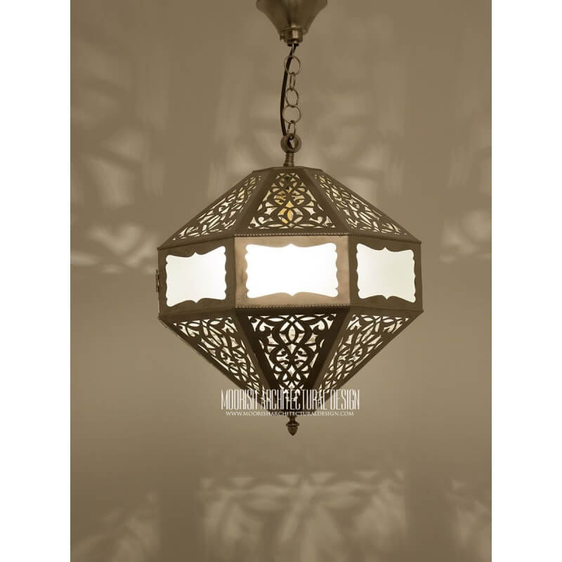 Moroccan Bathroom Pendant New York Ideas