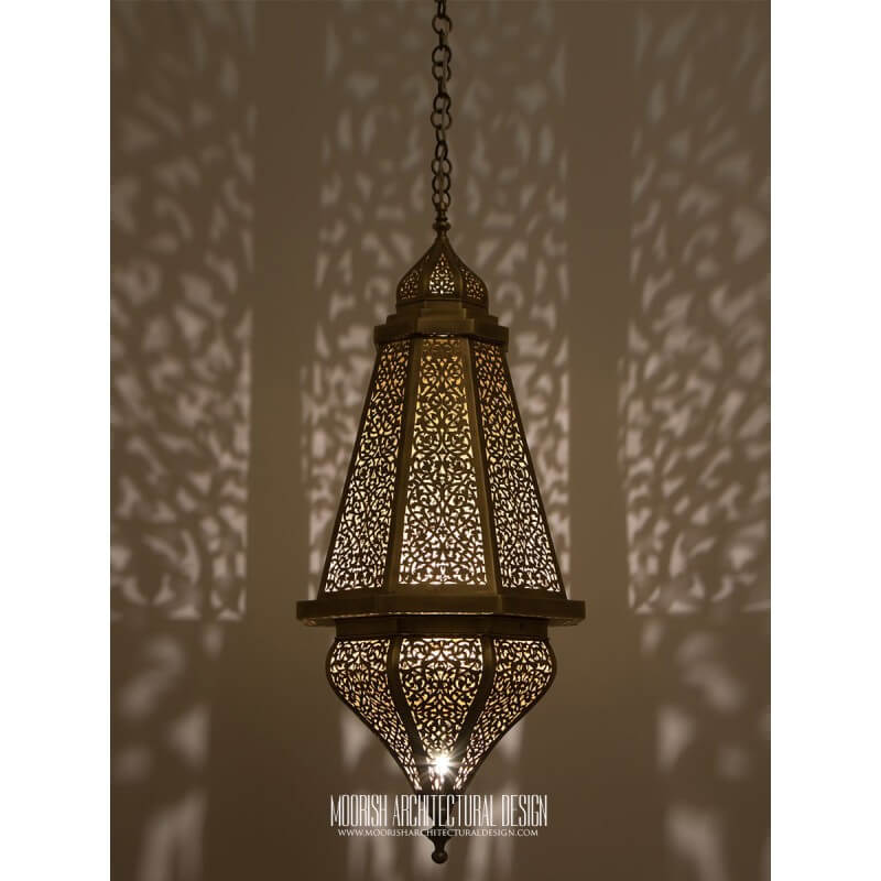 Moorish Foyer lighting