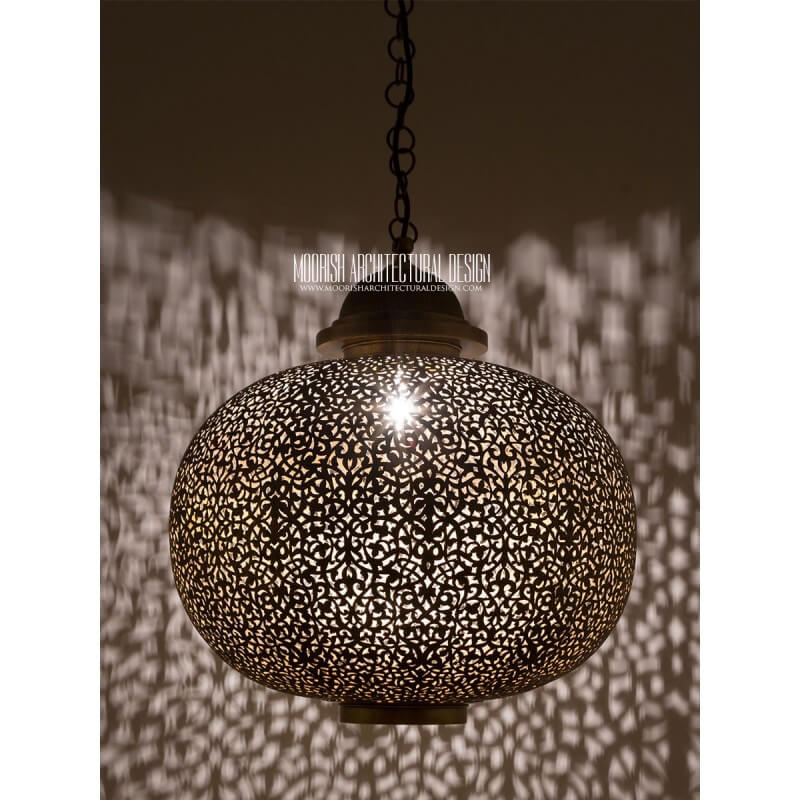 Moorish Modern Entryway & Foyer Light Fixtures
