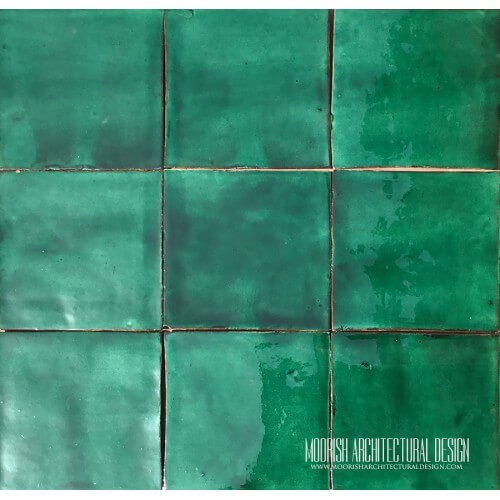 Fez Green Pool Tiles