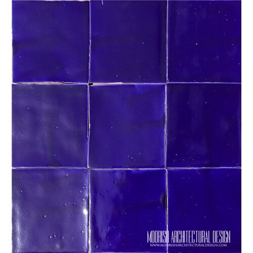 Royal Blue Pool Tiles