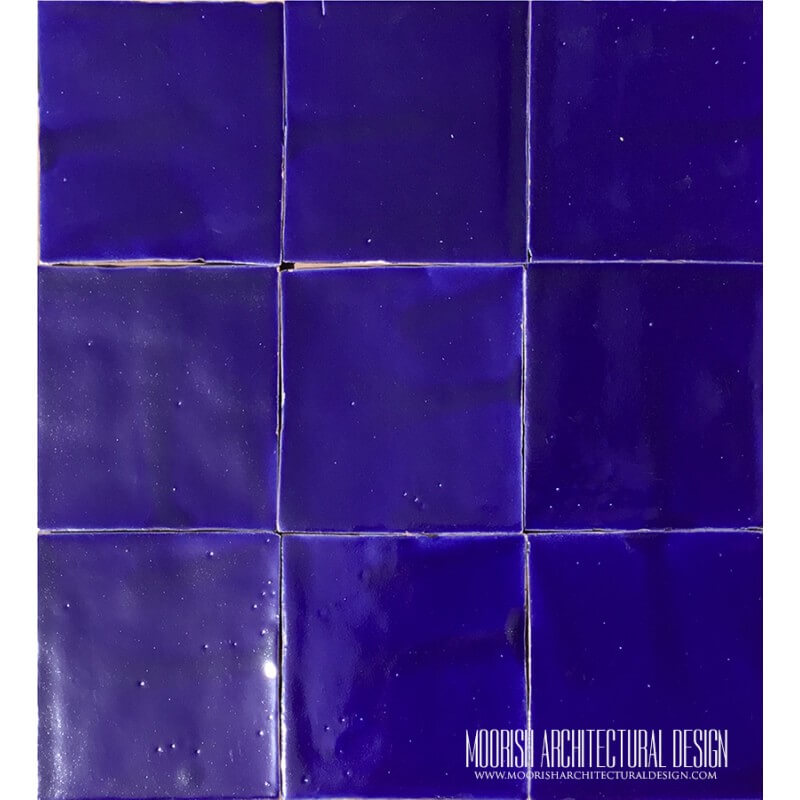 Moorish Blue Pool Tiles