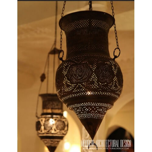 Traditional Moroccan Pendant 49