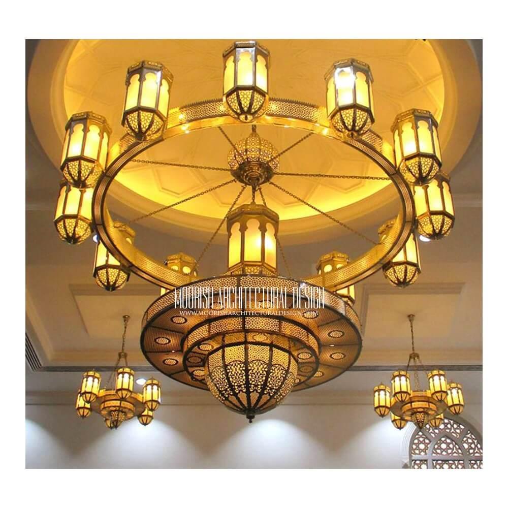 Modern chandelier moroccan filigree chandelier luxury hotel light modern moroccan chandelier 05 modern moroccan chandelier 05 aloadofball Image collections