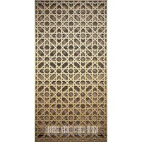 Arabian Brass Jali Screen
