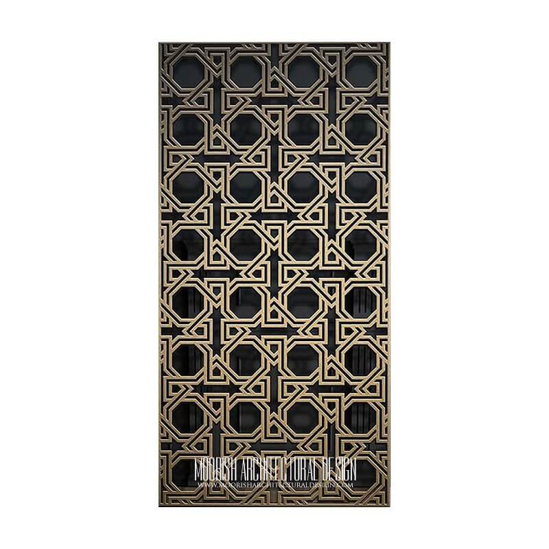 Islamic Jali Screen Pattern