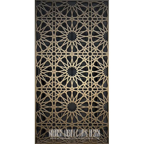 Metal Lattice Screen 07