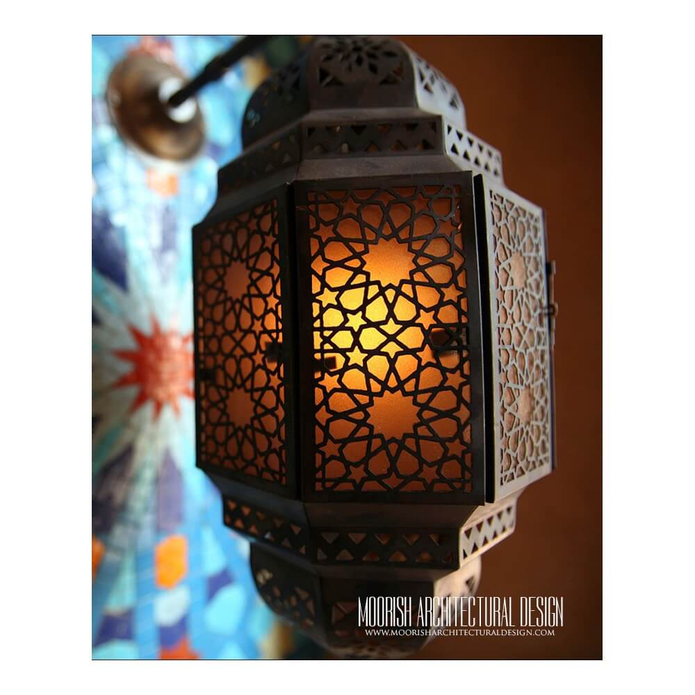 Moroccan Lantern Arabian Lighting