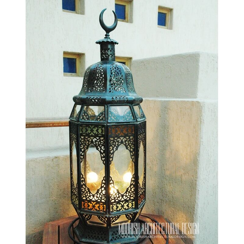 Moroccan Riad Lighting