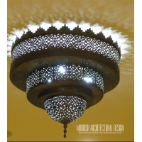 Moorish Bathroom ceiling light