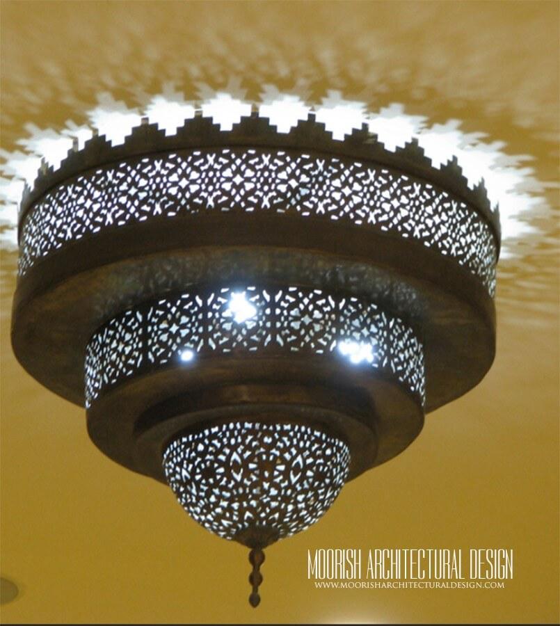 Bathroom Lighting - Moroccan Ceiling Light Fixtures