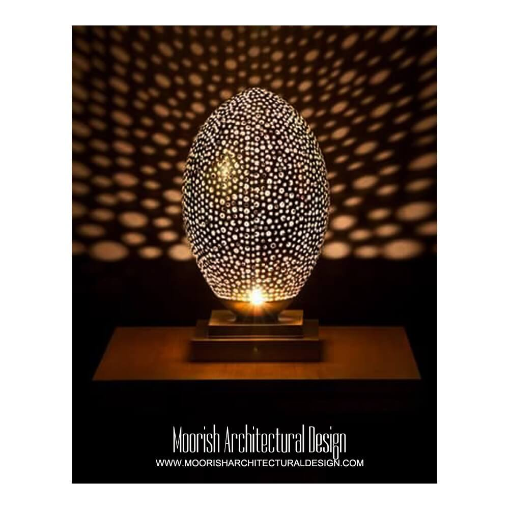 Moroccan table lamp aloadofball Image collections