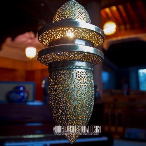 Modern Moroccan Pendant 87