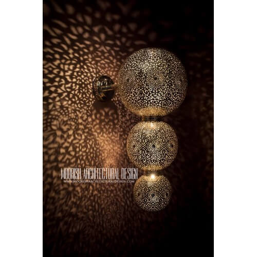 Modern Moroccan Sconce 48