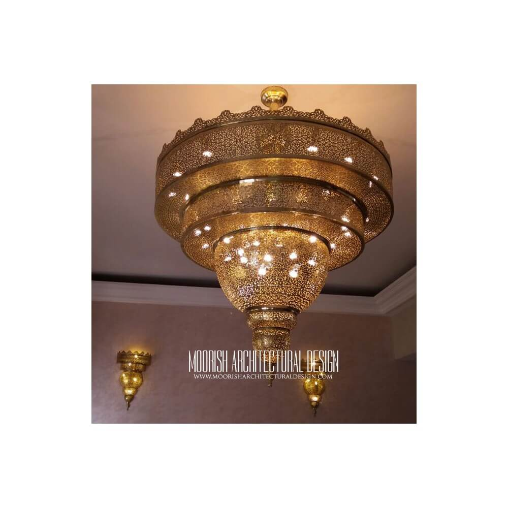 colonial w x products indoor chandelier h nickel polished finish