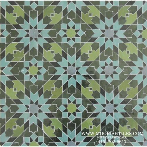 Moroccan Tile 01
