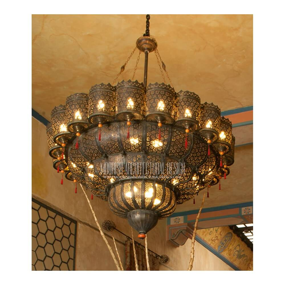 Traditional Moroccan Chandelier 13