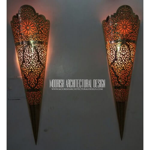 Traditional Moroccan Sconce 39