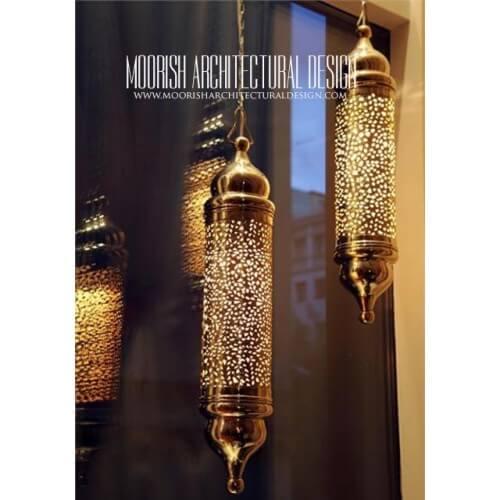 Modern Moroccan Pendant 26
