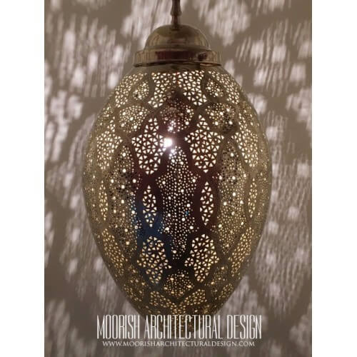 Modern Moroccan Pendant 103