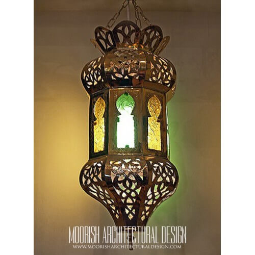 Traditional Moroccan Pendant 74