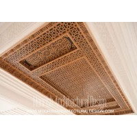 Arabian wood ceiling Design