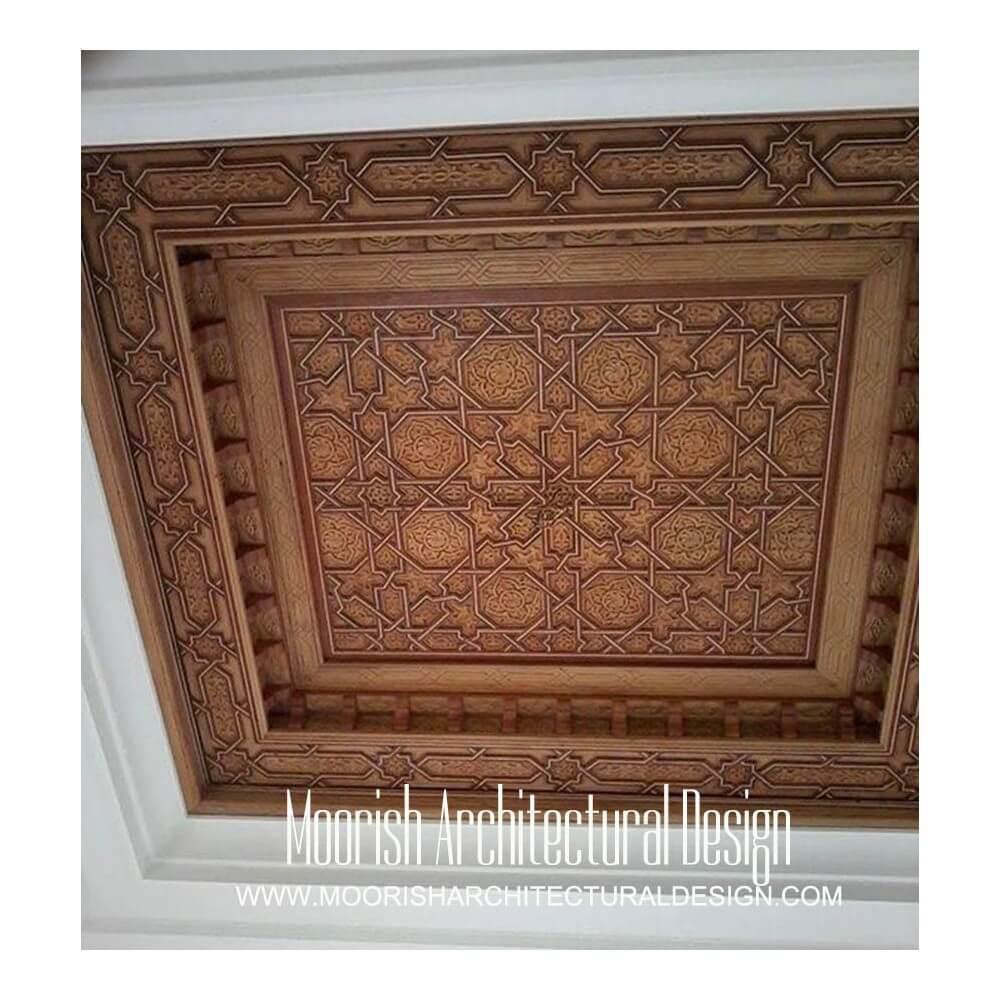 Best Arabian wood ceiling design ideas: Moroccan ceiling