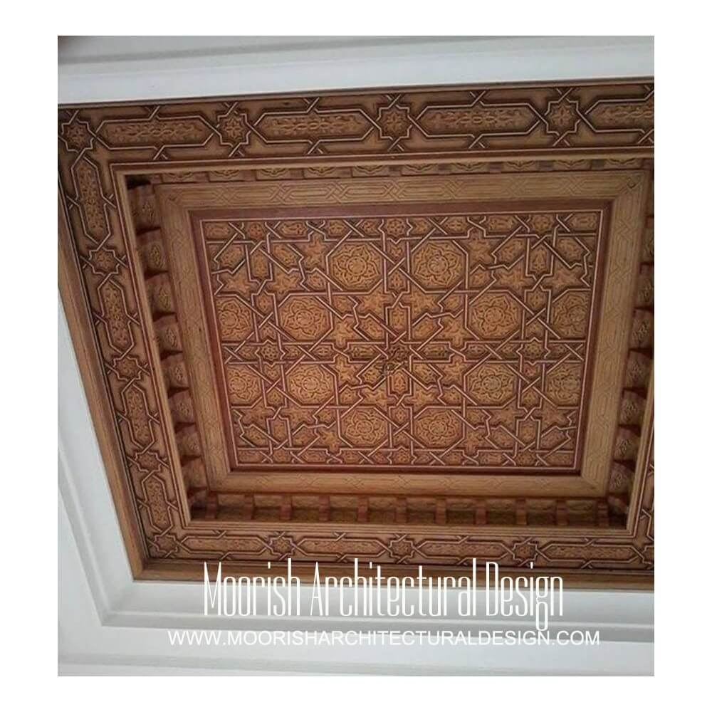 Best Arabian Wood Ceiling Design Ideas Moroccan Ceiling