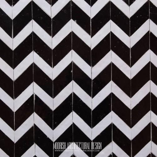 Moroccan Monochrome Tile 07