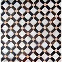 Moroccan tile kitchen floor idea