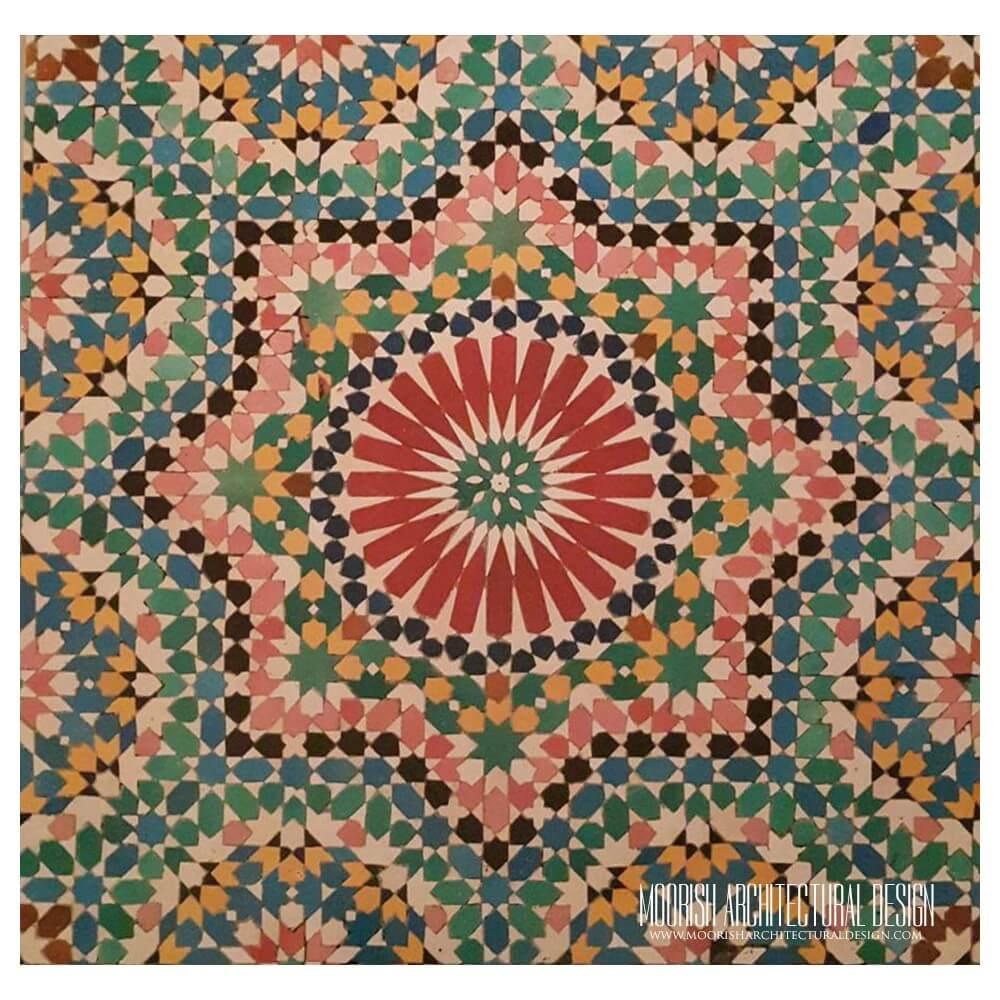 Alhambra Tiles Granada Tiles Moorish Tile