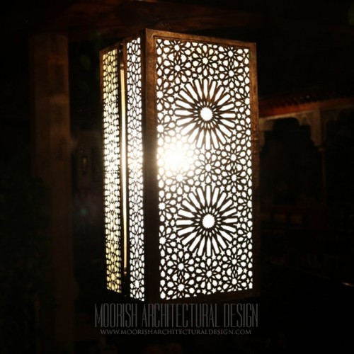Modern wall sconces moroccan filigree wall lamps 3 moroccan wall sconce lights for sale aloadofball Images