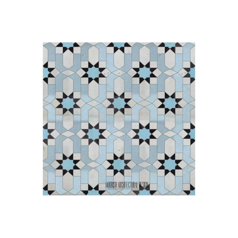 100\'s of Moroccan bathroom tile design ideas using Zellige