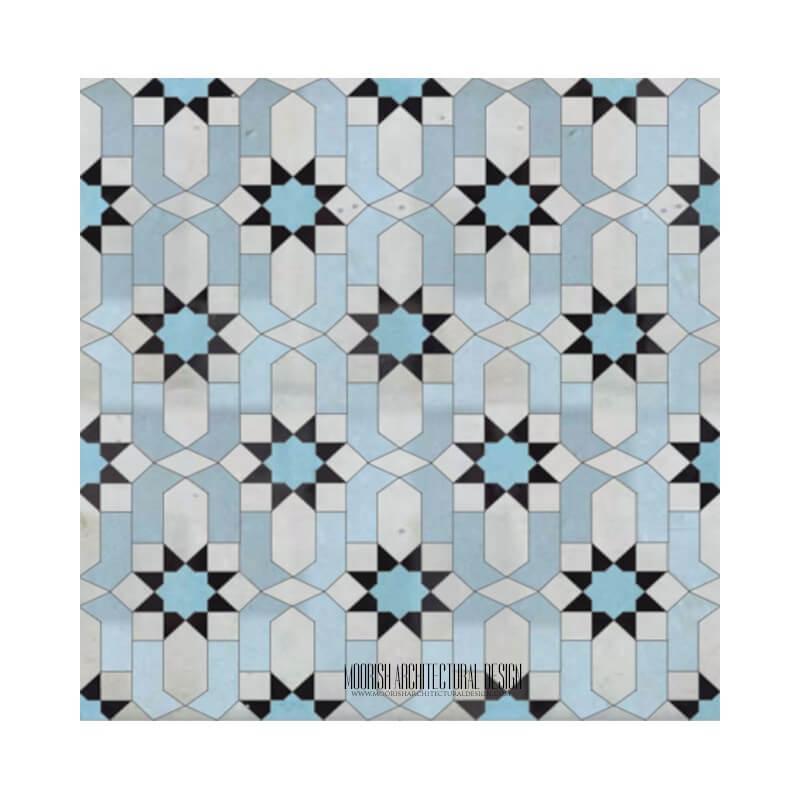 Moroccan Tile bathroom