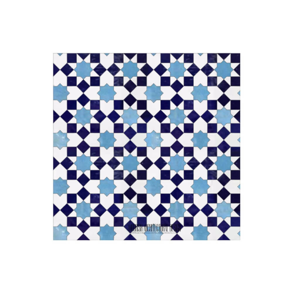 Moroccan Tile Backsplash | Zellige Tile Kitchen Walls & Floors