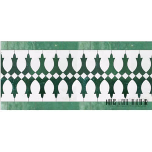 Moroccan Border Tile 126