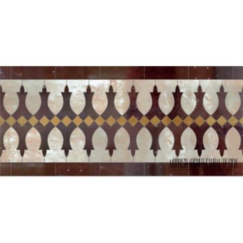 Moroccan Border Tile 128