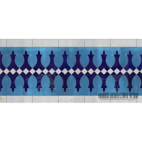 Moroccan Border Tile 132