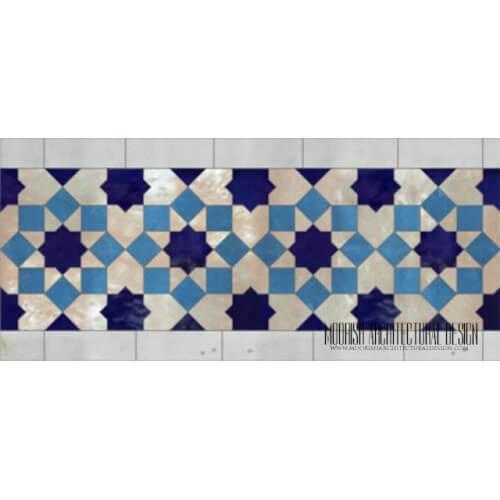 Moroccan Border Tile 134