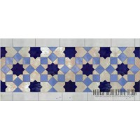 Spanish mosaic pool tiles
