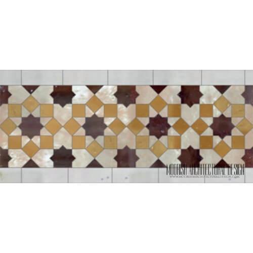 Moroccan Border Tile 138