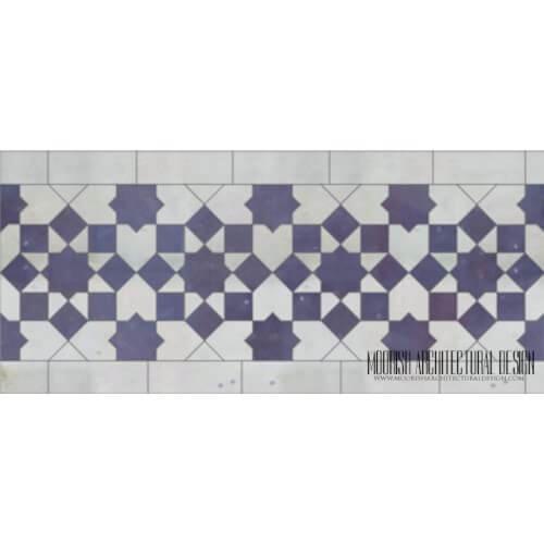 Moroccan Border Tile 140