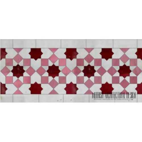 Moroccan Border Tile 143