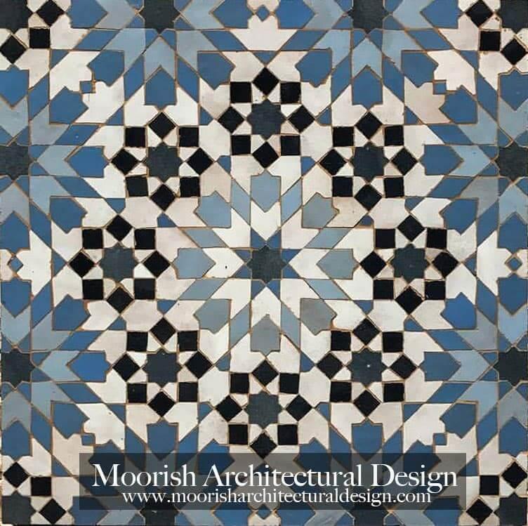 Moroccan Tile Moorish Bathroom Kitchen Tile