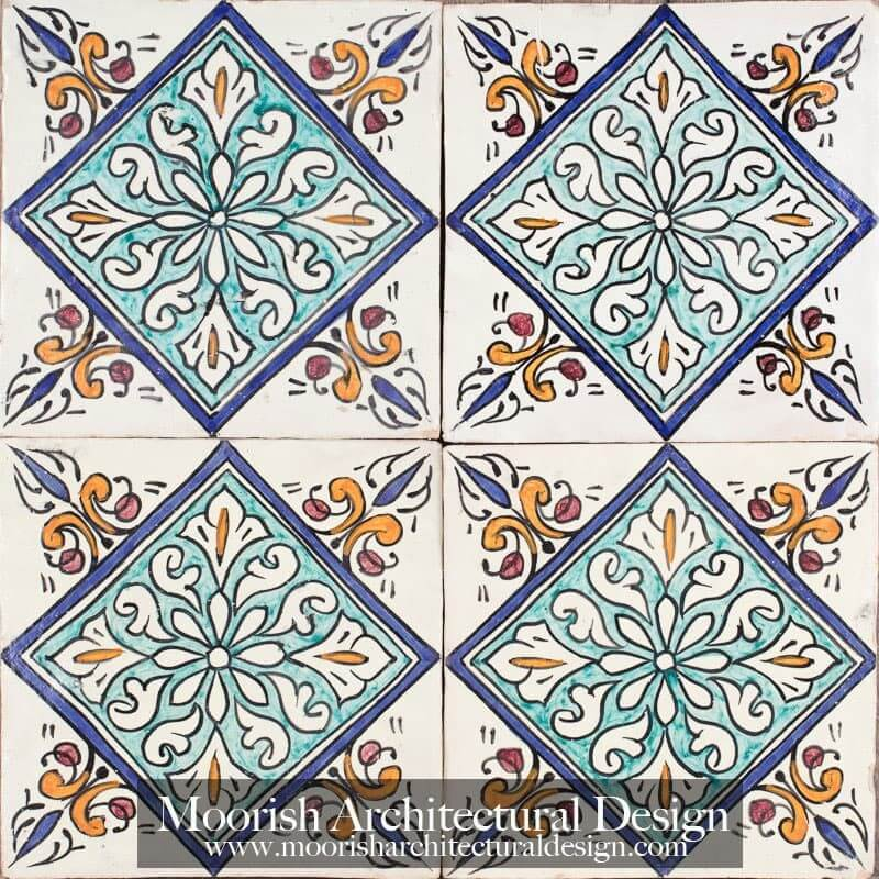 Spanish Colonial Revival Bathroom Spanish Portuguese Tile