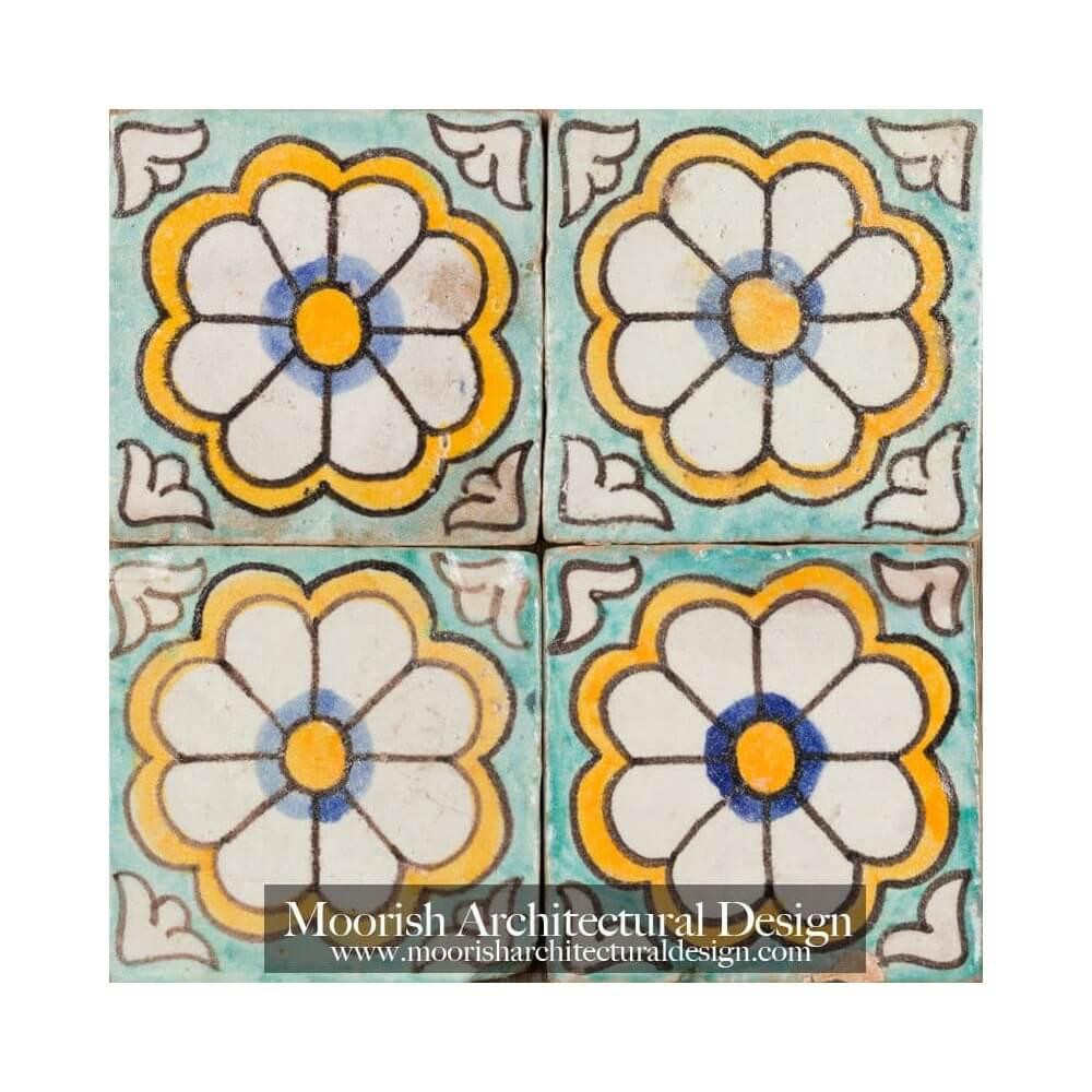 Spanish revival style with malibu inspired tile for Spanish revival tile